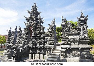 ヒンズー教の寺院, geretek, バリ, インドネシア