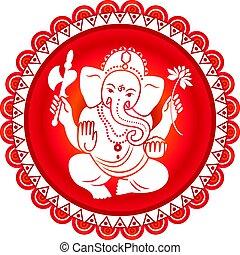 ヒンズー教の 神, ganesha.