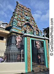 ヒンズー教信徒, indian, chinatown, 寺院