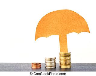 ヒープ, 概念, コイン, ∥あるいは∥, 山, 保護, 保険担保