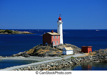 ビクトリア, bc州, fisgard, カナダ, 灯台