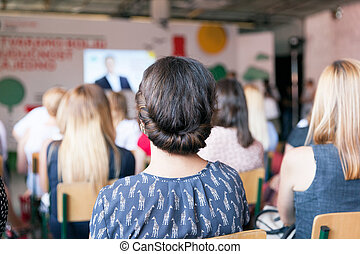 ビジネスの会議, そして, プレゼンテーション, ∥あるいは∥, 専門家, 訓練