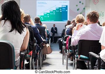 ビジネスの会議, そして, プレゼンテーション