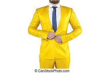 ビジネスマン, ∥で∥, ストレス, ボタン, buttoned, ジャケット