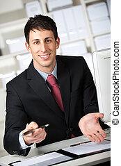 ビジネスマン, ∥で∥, 契約