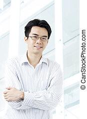 ビジネスマン, アジア人