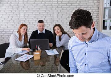 ビジネスマン, オフィス, 肖像画