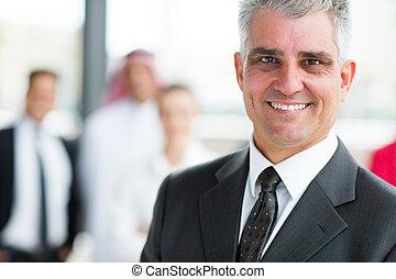 ビジネスマン, シニア