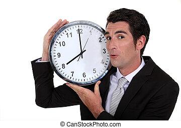 ビジネスマン, 保有物, 時計
