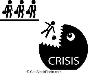 ビジネスマン, 危機