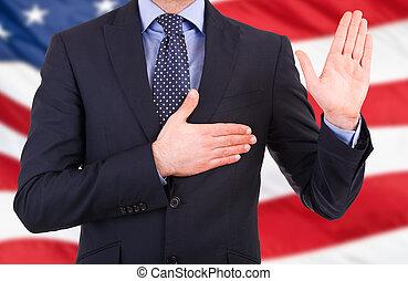 ビジネスマン, 取得, oath.