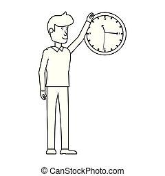 ビジネスマン, 特徴, avatar, 時計
