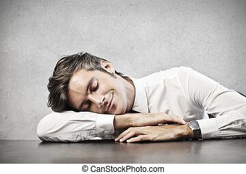 ビジネスマン, 睡眠