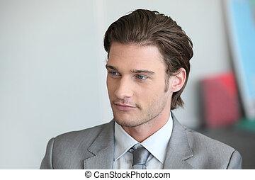 ビジネスマン, 若い