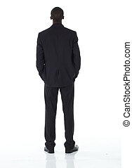 ビジネスマン, 黒, アフリカ