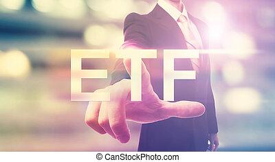 ビジネスマン, etf, 指すこと