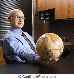 ビジネスマン, globe., 保有物
