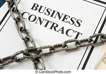 ビジネス契約, 鎖