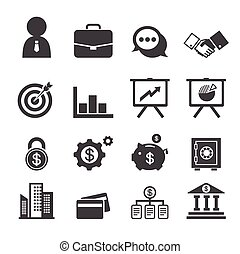 ビジネス, そして, 金融