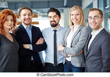 ビジネス, グループ