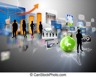 ビジネス チーム, ∥で∥, ビジネス, 世界