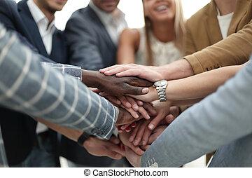 ビジネス チーム, インターナショナル, ∥そ∥, 団結, ショー