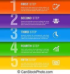ビジネス, テンプレート, infographics