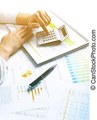 ビジネス, データ, 分析