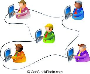 ビジネス, ネットワーク