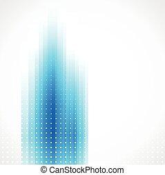 ビジネス, バックグラウンド。, ベクトル, デザイン, パンフレット, 技術