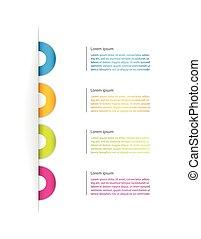 ビジネス, マーケティング, フライヤ, プレゼンテーション, デザイン, 特別