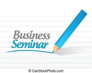 ビジネス, メッセージ, デザイン, セミナー, イラスト