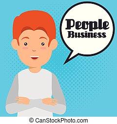 ビジネス 人々, ∥で∥, スピーチ, 泡, コミュニケーション
