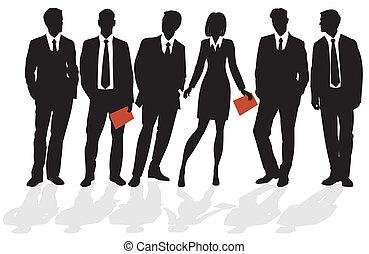 ビジネス 人々