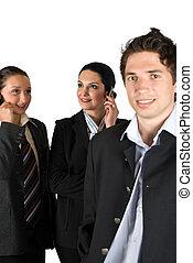 ビジネス 人々, グループ