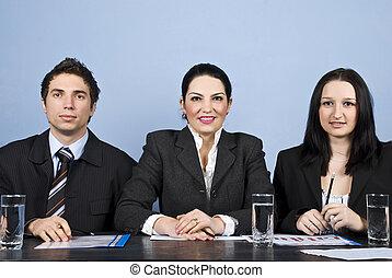 ビジネス 人々, 会議