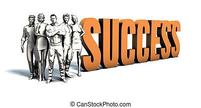 ビジネス 人々, 成功, 芸術