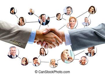 ビジネス 人々, 握手