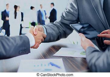 ビジネス 人々, 揺れている手