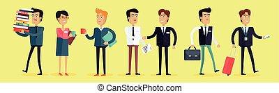 ビジネス 人々, 特徴