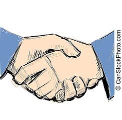 ビジネス 人々, ∥間に∥, 2, 手の 振動