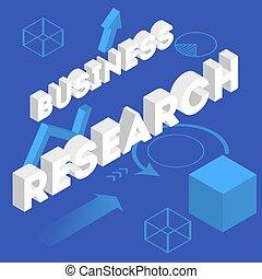 ビジネス 人々, banner., 探索, 創造的, 研究