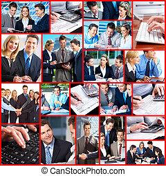 ビジネス 人々, collage.