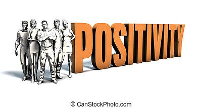 ビジネス 人々, positivity, 芸術