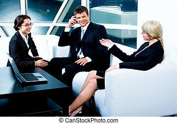 ビジネス, 会話