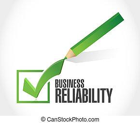ビジネス, 信頼性, 点検, 印, 印, 概念