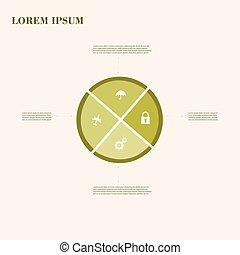ビジネス, 医学, problems., medecine, 創造的, ideas., infografics:, 健康...