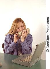 ビジネス 女, そして, お金