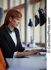 ビジネス 女, コンピュータに取込むこと, ∥において∥, オフィス