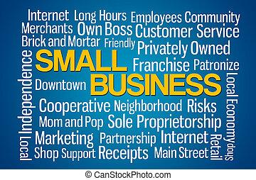ビジネス, 小さい